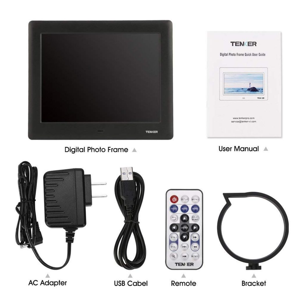 Best Top 5 Digital Picture Frames For Sale   2018 Review Guide   TGN